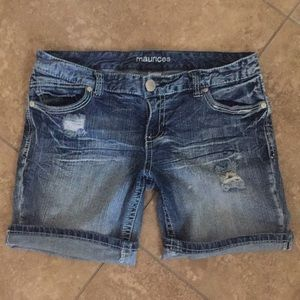 🔥Maurices Denim Shorts